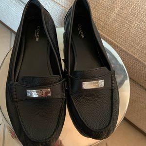 Coach women 10B Black shoes Like New